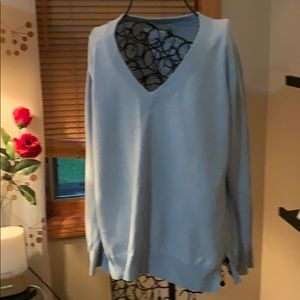 Light blue jcrew sweater